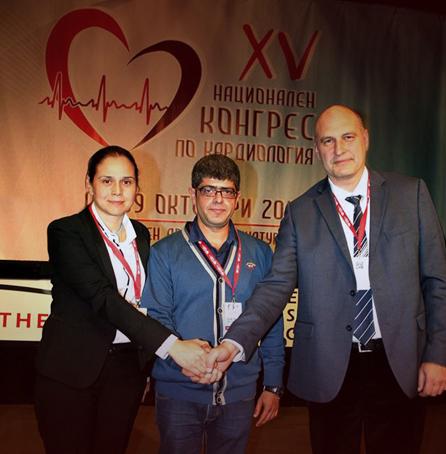 Председателите на Дружеството на кардиолозите в България